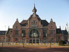 Shaarbeek Train Station, Brussels, Belgium