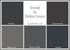 What's Trending In Dulux Paint Colours: Gallerie B More