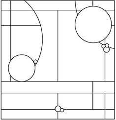 free stained glass patterns -