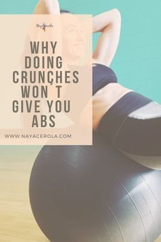 Having abs or a six-pack is something that most people who start working out are looking for; doing hundreds of crunches every single day to get them and see no results at all and that's because doing just crunches, that particular exercise alone won't give you the desired results. Beginner Workout At Home, Workout For Beginners, At Home Workouts, Get A Six Pack, Start Working Out, How To Get Abs, Six Packs, Crunches, Fitness