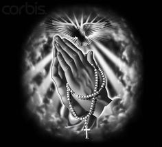 mens praying hands tattoo - Google Search