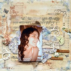 Bellaidea today with my next project; I had a chance to use several stamps from Inkido , I wonder , do you see them all? Scrapbook Pages, Scrapbooking Ideas, Scrapbook Layouts, Making Memories, Various Artists, Mini Albums, Paper Crafts, Html, Projects
