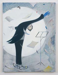 Sanya Kantarovsky (1982-)  Blue Note http://arteseanp.blogspot.com