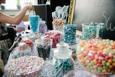 DIY candy buffet / bar wedding in navy White and rose - www. Candy Bar Wedding, Marrying My Best Friend, Candy Buffet, Marry Me, Navy And White, I Am Awesome, Underwear, Sweets, Wedding Ideas