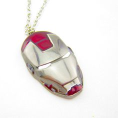 IRONMAN Necklace by Stuff4Geekz on Etsy, $10.99