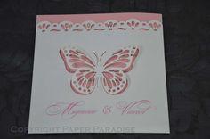 Butterfly Laser Cut Invitations