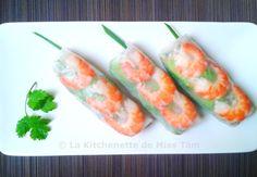 .^. Rouleaux de printemps de La Kitchenette de Miss Tâm, le site idéal pour une cuisine asiatique bien expliquée