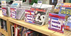 Comic Books Baskets   por Enokson