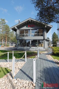 "Come by our ""Kieppi"" head office if you are visiting Santa Claus Village in Rovaniemi Lapland Finland!"