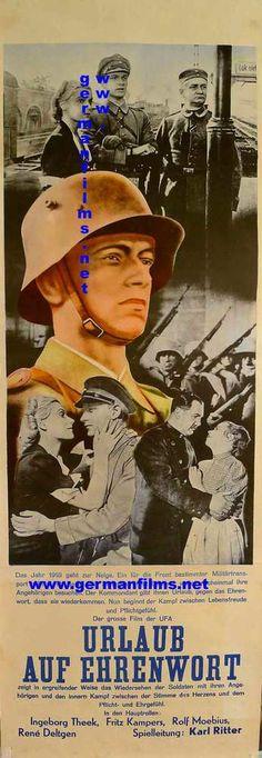 German Films Poster Collection :: Urlaub auf Ehrenwort 1937