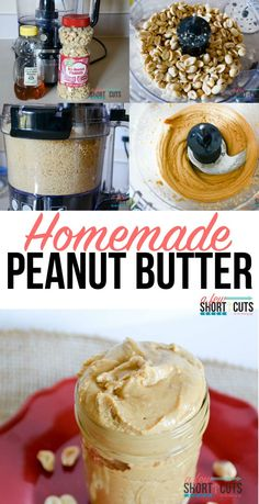Did you know all you need is 3 ingredients and 4 minutes to make your own Homemade Peanut Butter. Tastes better than any store bought Peanut Butter I have ever had. Check out this simple recipe!