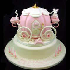 Perfect princess cake...