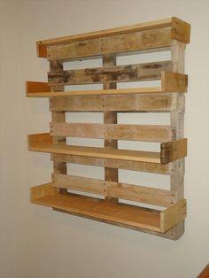 DIY Pallet Bookshelf | Pallet Furniture DIY @Pamela Culligan Culligan Culligan Hutton Wearmouth: