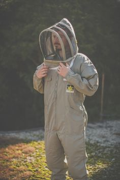 #beekeeping clothing and suits from BJ Sherriff