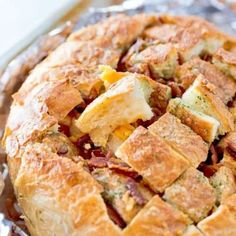 CHEESY BACON RANCH PULL-APART BREAD | The Country Cook