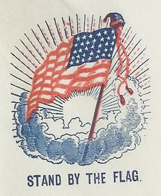 Risultati immagini per vintage american flag