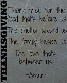 I Gotta Try That...: Thanksgiving Prayer Free Printable