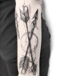 Sketch style arrows by Frank Carrilho