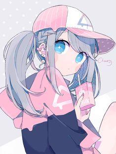 Manga Kawaii, Arte Do Kawaii, Loli Kawaii, Manga Anime Girl, Cute Anime Chibi, Anime Girl Drawings, Cute Anime Pics, Anime Neko, Kawaii Art