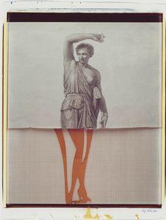 luigi ghirri: amsterdam 1980, polaroid polacolor 20 x 24'' © eredi di luigi ghirri