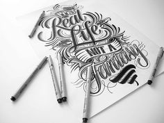 Hand Lettering Colle