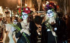 Dia De Los Muertos San Francisco procession