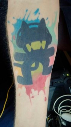 Monstercat tattoo