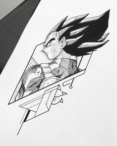 Z Tattoo, Body Art Tattoos, Tatoos, Dragon Ball Z, Cartoon Drawings, Art Drawings, Ball Drawing, Desenho Tattoo, Anime Tattoos