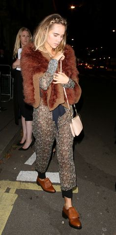 How Suki Waterhouse Masters Her Off-Duty Style