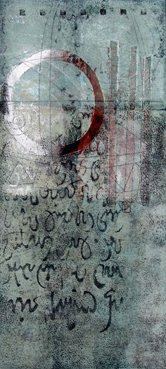 "High Expectations, by Anne Moore, monotype, 15""x7"""