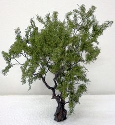 Model Tree, Model Trains, Scenery, Plants, Miniatures, Tutorials, Dioramas, Electric Train, Landscaping