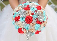 tiffany blue red color palette - Google Search