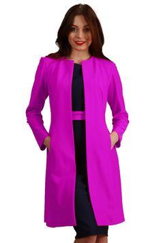 Twilight Coat in Orchid Purple