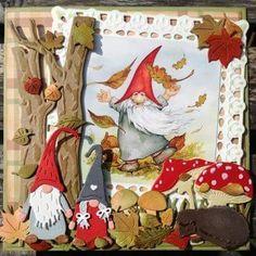 Christmas Cards To Make, Xmas Cards, Diy Cards, Handmade Christmas, Fall Paper Crafts, Scrapbook Paper Crafts, Scrapbooking, Halloween Quilts, Halloween Cards