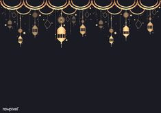 Lantern design space illustration Free V. Ramadan Background, Triangle Background, Background Patterns, Textured Background, Black Background Design, Backgrounds Free, Black Backgrounds, Espace Design, Rose Gold Texture