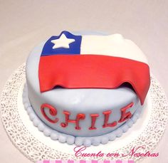 Torta Chile Holiday Recipes, Cake, Desserts, Food, Russian Nozzles, Patriots, Bicycle Kick, Fiestas, Food Cakes