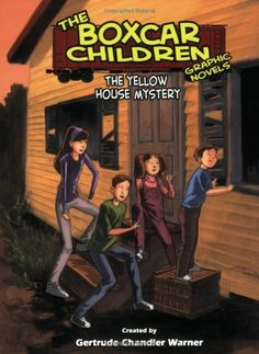 The Yellow House Mystery, A Graphic Novel #3 (Boxcar Children Graphic Novels) by Gertrude Chandler Warner http://www.amazon.com/dp/0807528692/ref=cm_sw_r_pi_dp_kYovub0NW6NZ8