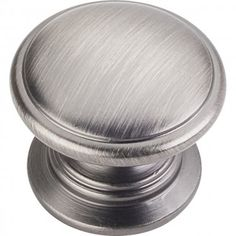 Knobs-Brushed Pewter-Jeffrey Alexander-3980-BNBDL - Knobs and Pulls - By Product Type