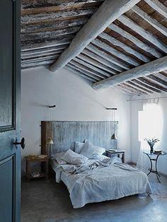french style in greek villa crete