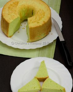 This pandan chiffon cake recipe has been sitting in my draft folder way long ago. Chiffon cakes are my family's all time favourite desser...