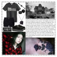 """""""Strangeness of My Existence"""" by fallen000 ❤ liked on Polyvore featuring NSF, Casetify and Marc by Marc Jacobs"""