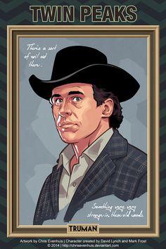 Sheriff Truman by Chris Evenhuis