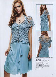 louca por linhas - crochet e patchwork: Blusa floral