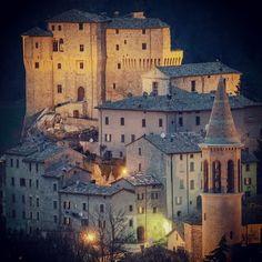 Sant'Agata Feltria, Emilia Romagna, Italy - uno dei borghi medievali più caratteristici del Montefeltro.