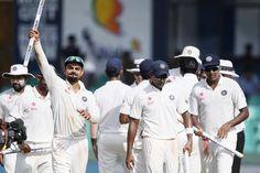 Kohli, Rahane, Ashwin dedicate series win to Chennai flood victims. « Times Of Pavan