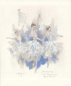 concept art for the boston ballet's 'nutcracker'