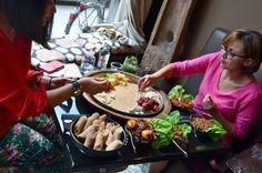 Degustatiemenu : met de handen eten