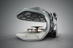 zaha hadid set to launch prefabricated dining pavilion at design miami/
