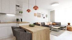 Dobryinterier.sk Conference Room, Living Room, Kitchen, Table, Furniture, Home Decor, Projects, Cooking, Decoration Home