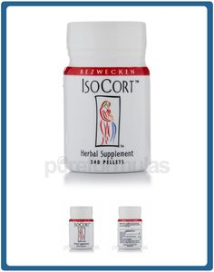 Our Price: $29.00 - Isocort is a supplement that was specifically designed by Bezwecken to address the problems of adrenal fatigue and reduced cortisol levels. It can provide relief from cortisol-related issues such as fatigue, allergies, food cravings and anxiety. Isorcort works by providing a standardized dose of Cortisol (an adreno-cortical substance) to help support adrenal function.